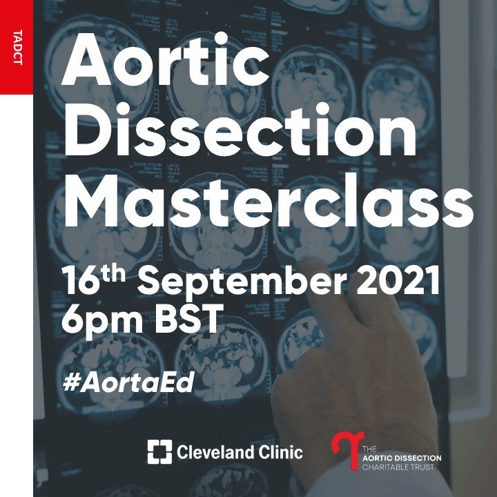 Aortic Dissection Charitable Trust cardiothoracic ED teams
